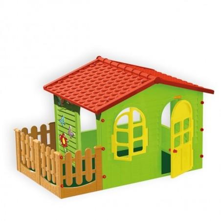 Leikkimökki puutarha XL