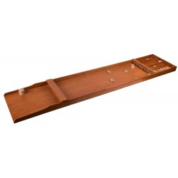 pöytäcurling eli suffleboardpöydät kovaan käyttöön